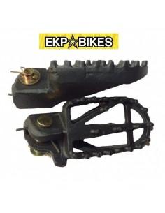 Estriberas Universales Acero Pit Bike ekpbikes