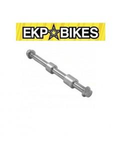 Eje Delantero o Trasero Completo Pit Bike 15mm x 235 mm ekpbikes
