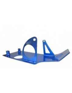 Cubrecarter de aluminio color azul