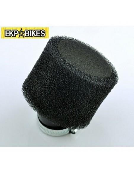 Filtro aire acodado negro 35/38/45/48mm pit bike