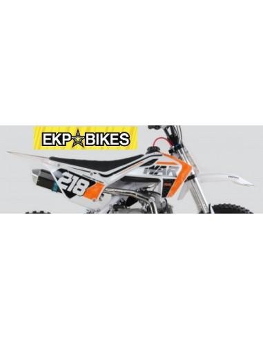 kit adhesivos pit bike PGR WAR 125-140 Estetica Husqvarna