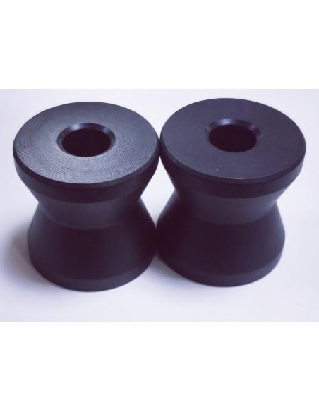 Casquillos nylon protectores tipo diabolo 4 Unidades