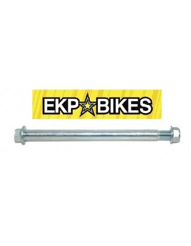 Eje delantero o trasero pit bike 15mm x 225 mm sin perforar