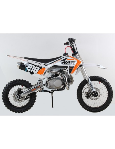Pit Bike Pitcross PGR WAR 140 XL 2019 estetica HUSQVARNA 2018