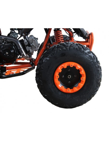 QUAD MEGA  RAPTOR  125cc R8 SEMI AUTOMATICO 3+R