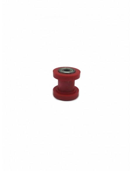 Rodillo tensor cadena rojo 8mm