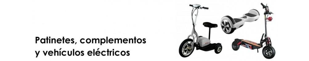 Patinetes y vehículos eléctricos