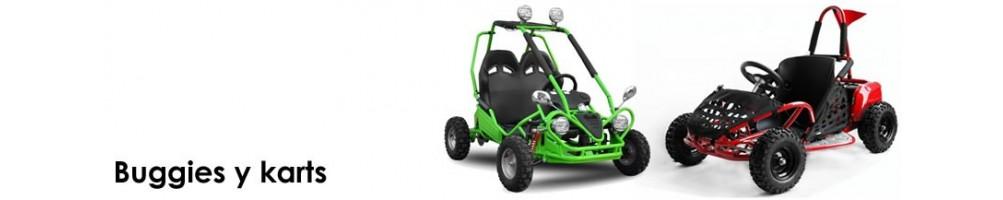 Buggies y karts de gasolina 4T y eléctricos