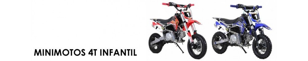 Minimoto - Pit Bike infantil con motor 4T